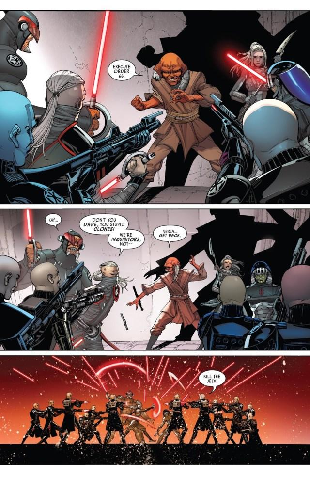 Jedi Ferren Barr Mind Controls Clone Troopers