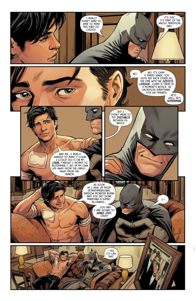 Superman Is Batman's Best Man For The Wedding
