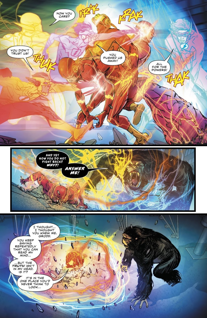 The Flash Cures Gorilla Grodd's Sickness