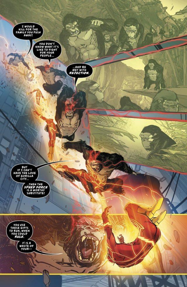The Flash Cures Gorilla Grodd's Sickness