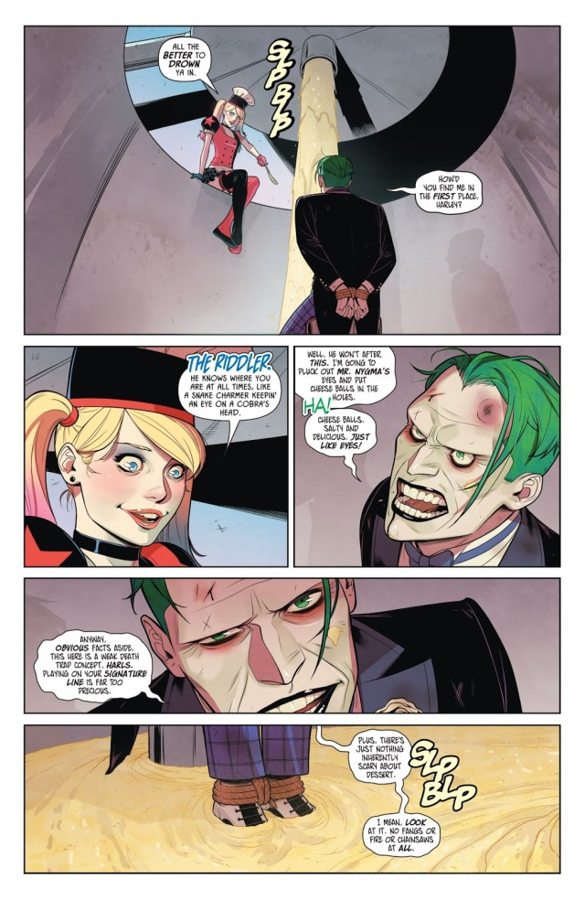 The Joker Stuck In Harley Quinn's Death Trap