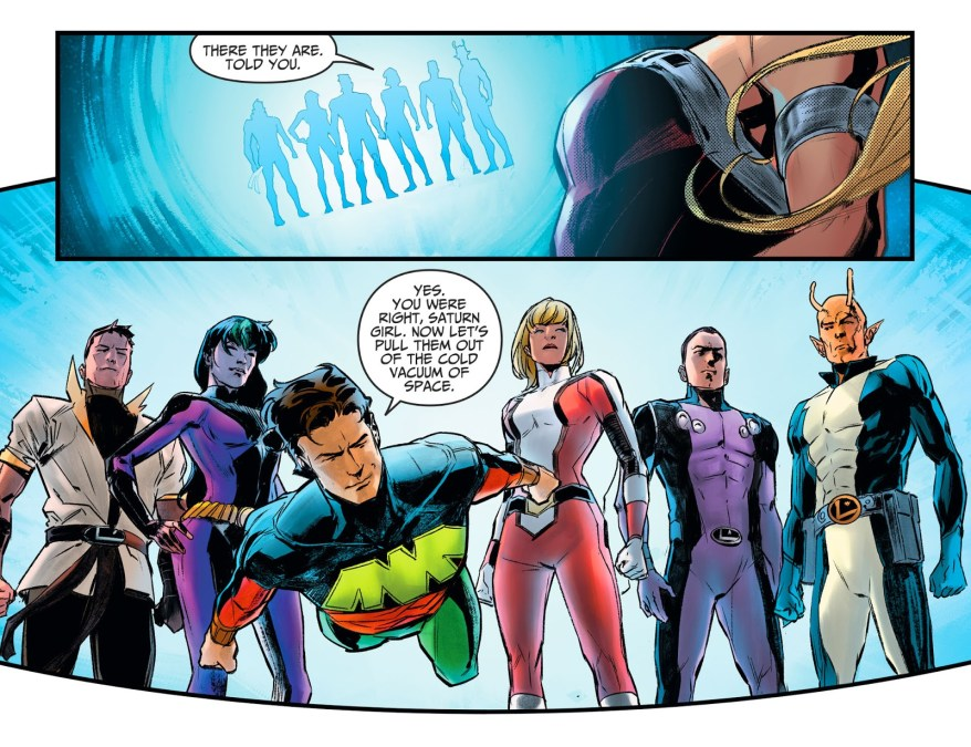 The Legion of Super-Heroes (Injustice II)