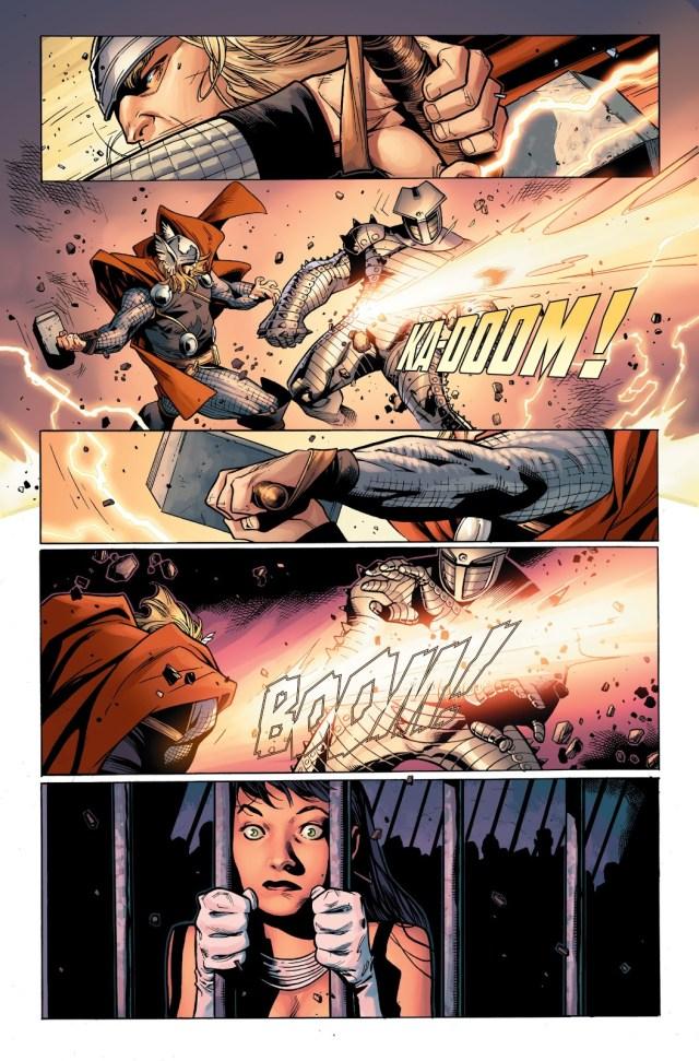 Thor VS The Destroyer (Thor Vol. 3 #5)