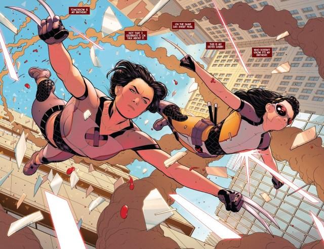 X-23 And Honey Badger (X-23 Volume 4 #1)