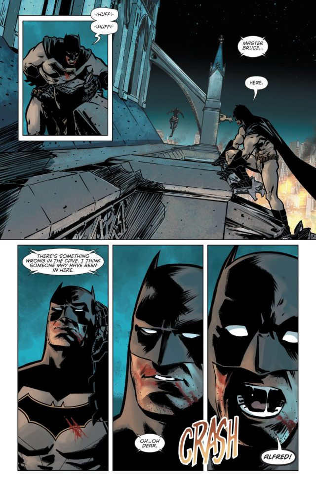 Batman VS Orphan (Detective Comics Vol 1 #953)