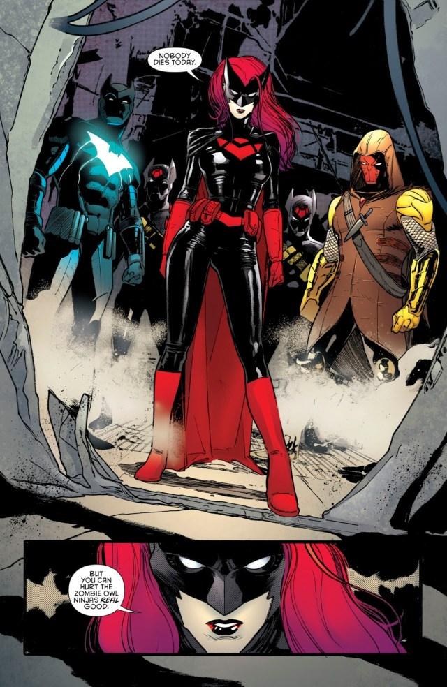 Batwoman, Batwing And Azrael (Detective Comics #976)