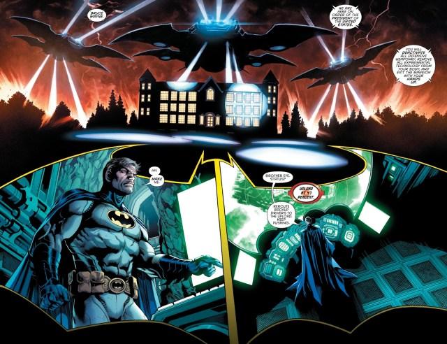 Batwoman Kills Batman In The Future