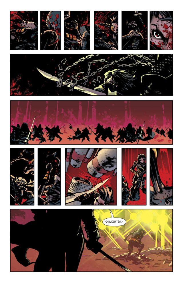 Cassandra Cain Defeats The League Of Shadows