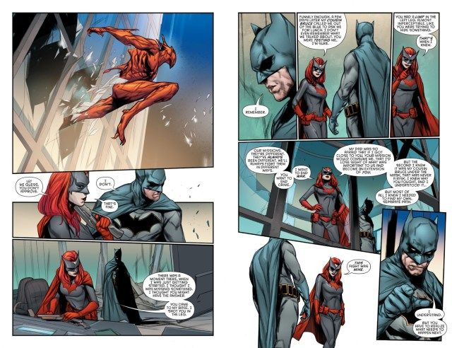 How Batwoman Learned Batman's Secret Identity
