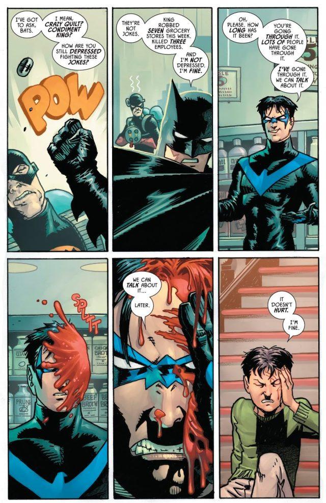 Batman And Nightwing VS Condiment King (Rebirth)
