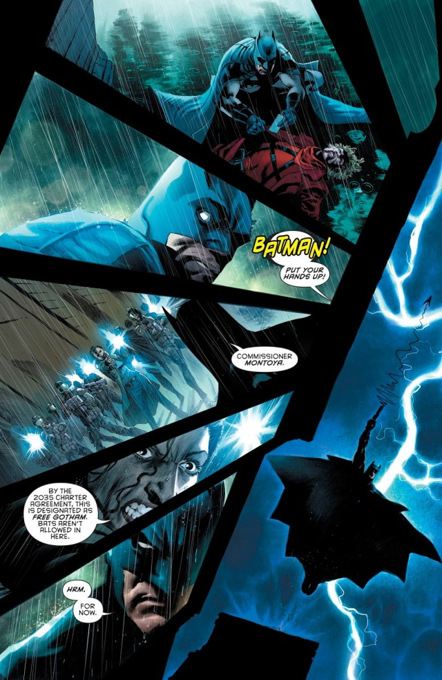 Batman (Tim Drake) Kills Anarky (Rebirth)