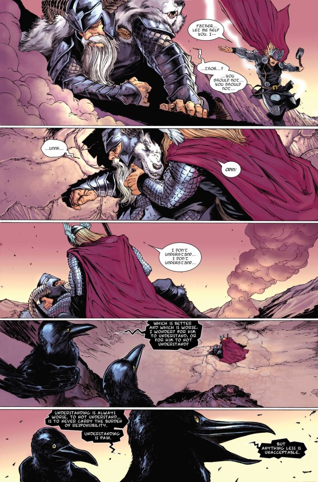 Odin VS Surthur (Thor Vol. 3 #7)