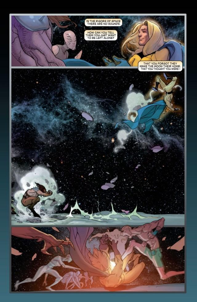 The Sentry VS The Inhumans (New Avengers)