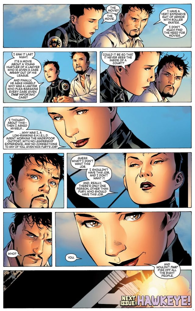 Why Maria Hill Was Promoted As Head Of SHIELD