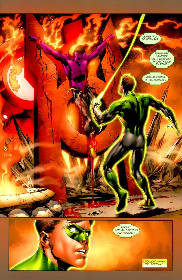 Hal Jordan And Sinestro (Green Lantern Vol. 4 #37)