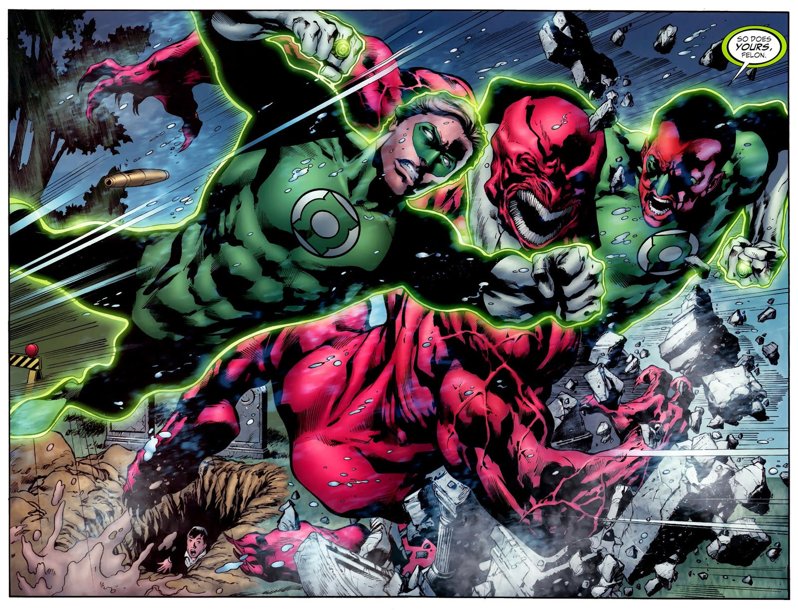 Agente Nathaniel Ward Superior  Hal Jordan And Sinestro VS Atrocitus (Secret Origin) – Comicnewbies