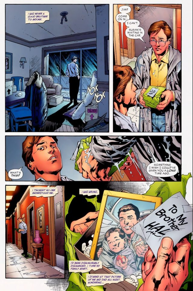 How Hal Jordan's Mother Died (Secret Origin)