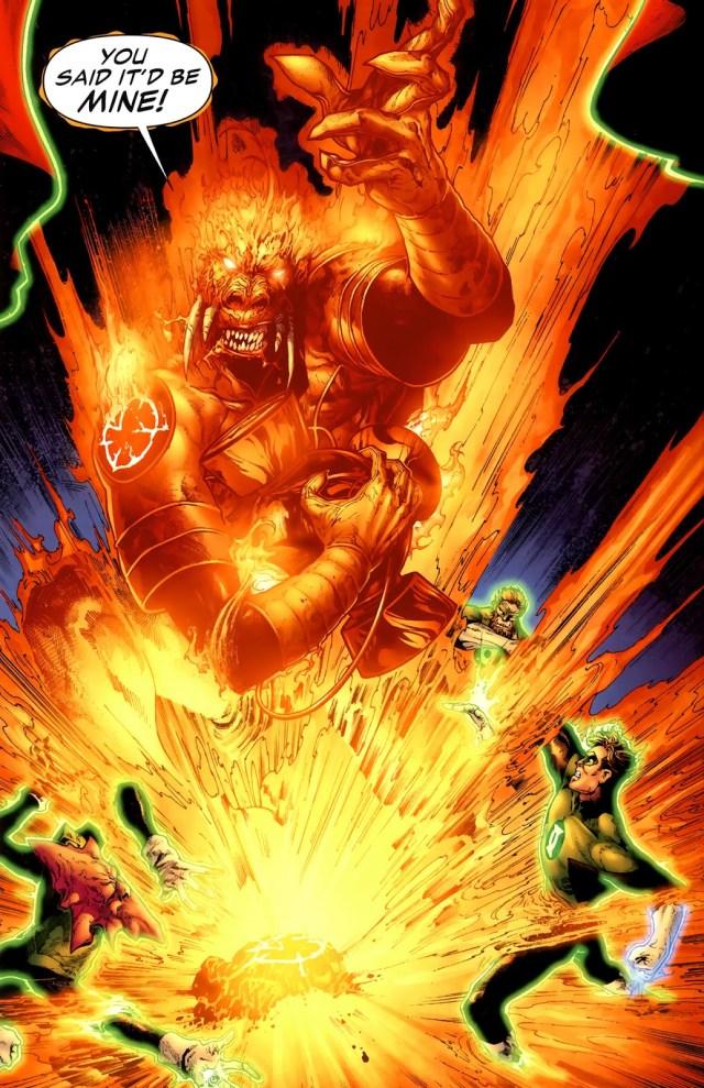Orange Lantern Larfleeze (Green Lantern Vol. 4 #39) 1