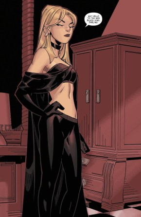 Emma Frost Becomes The Black King Of The Hellfire Club