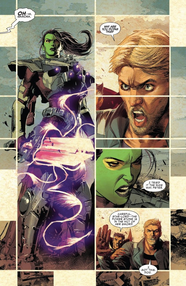 Gamora Kills Star-Lord