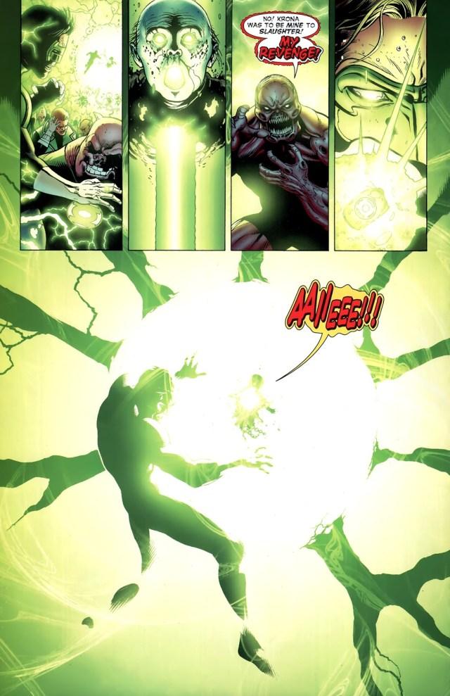 Green Lantern Hal Jordan Kills Krona