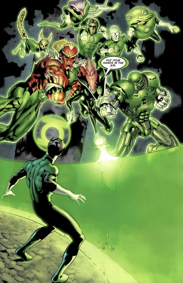 Hal Jordan And The Green Lantern Corps (Green Lantern Vol. 4 #64)