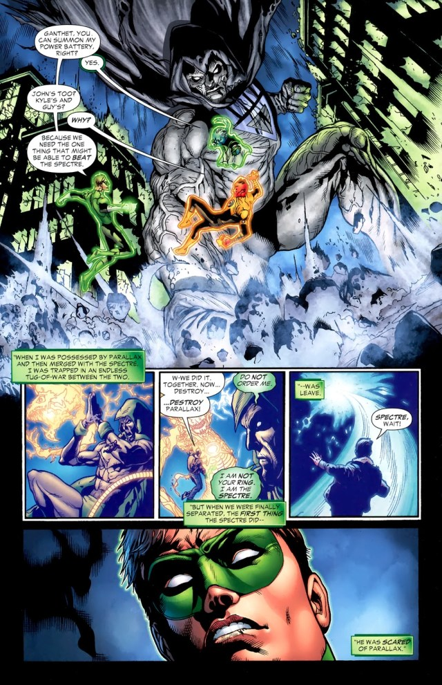 Hal Jordan Merges With Parallax (Blackest Night)