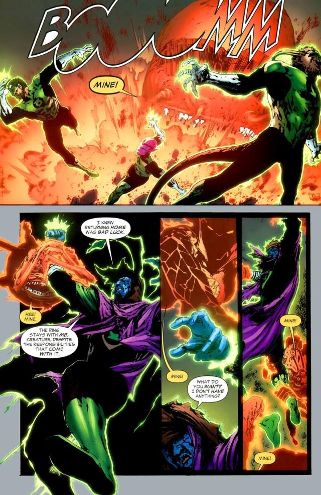 How Larfleeze Grows His Orange Lantern Corps