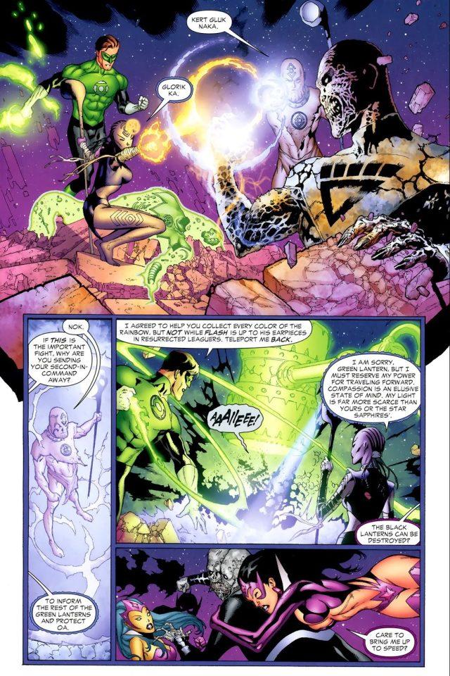 How To Destroy A Black Lantern