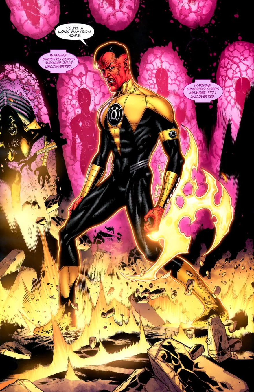 Sinestro (Green Lantern Vol. 4 #45)