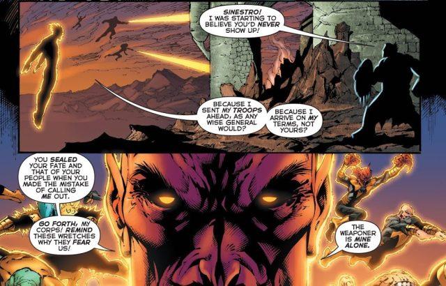 Sinestro VS The Weaponer Of Qward