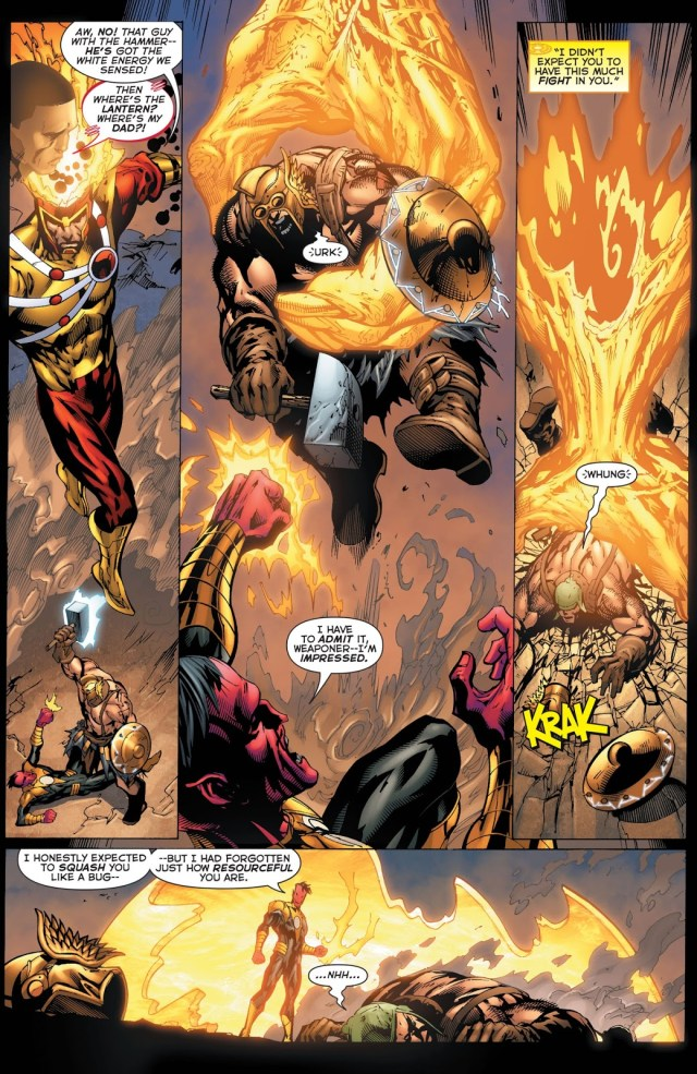 The Weaponer Joins The Sinestro Corps
