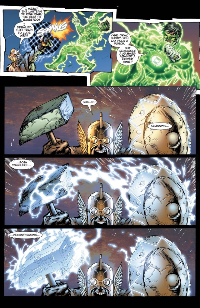 Green Lantern Kyle Rayner VS The Weaponer