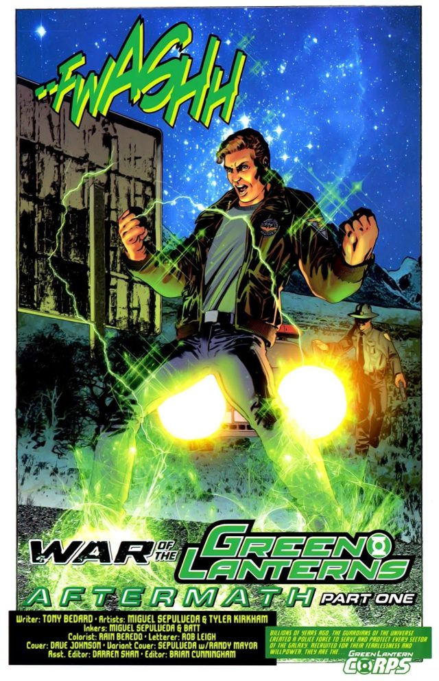 Hal Jordan (War of the Green Lanterns Aftermath #1)