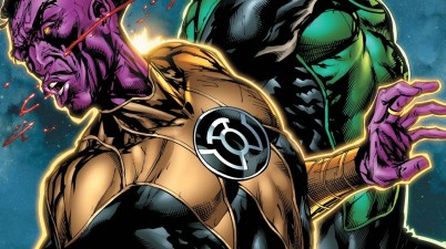 Kyle Rayner Punches Sinestro In The Face 1