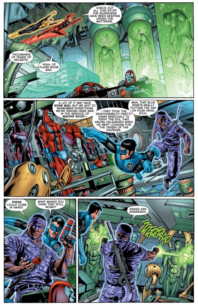 The Green Lanterns Discover The Foundry