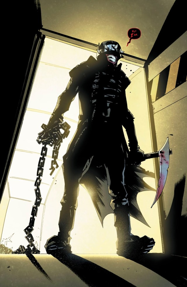 The Grim Knight Attacks Arkham Asylum
