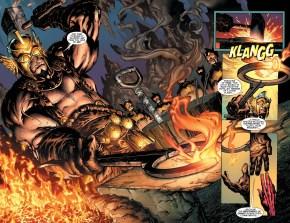 The Weaponer Creates Sinestro's Yellow Ring