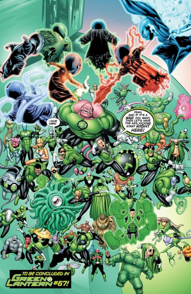War Of The Green Lanterns (Emerald Warriors #10)