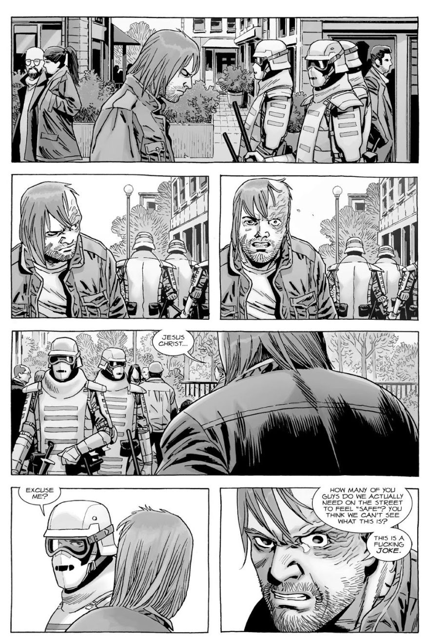 Dwight Causing Trouble In The Commonwealth (The Walking Dead)