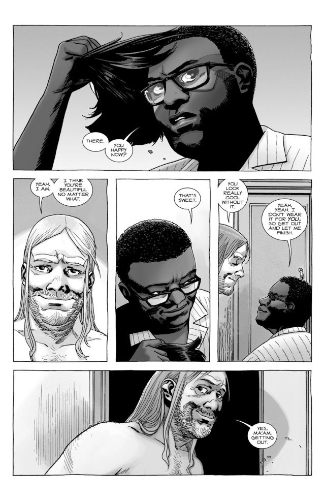 Eugene Porter Sleeps With Stephanie (The Walking Dead)