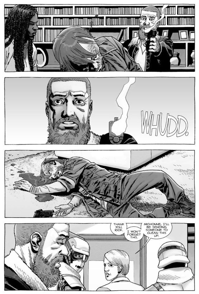 Rick Grimes Kills Dwight (The Walking Dead)