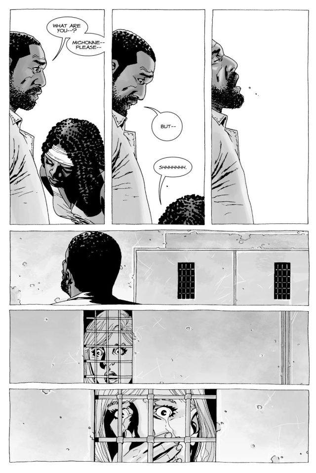 Tyreese Cheats On Carol With Michonne (The Walking Dead)