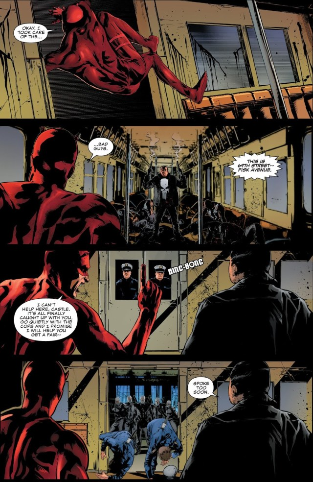 The Punisher And Daredevil Team Up (The Punisher Vol. 12 #2)