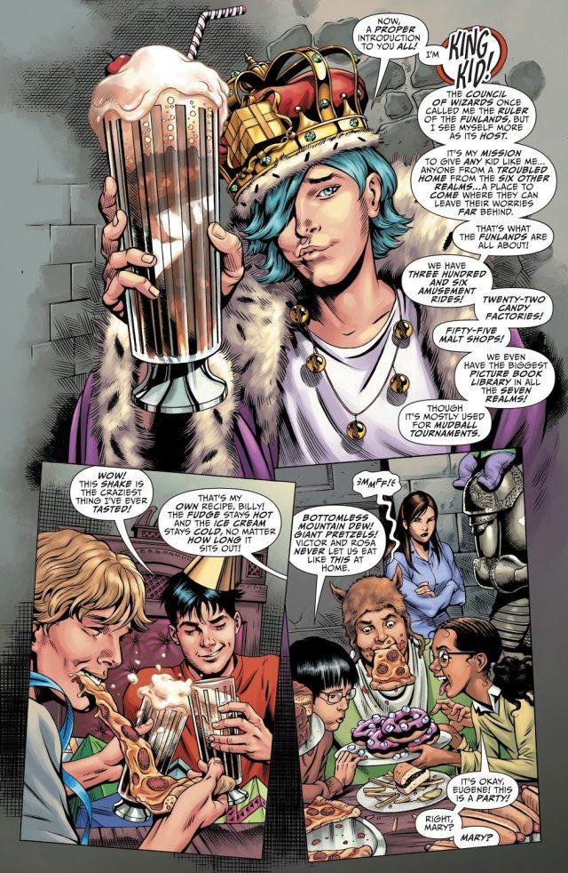 King Kid's Origin Story