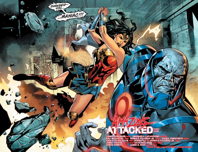 Wonder Woman VS Darkseid (Wonder Woman Vol. 5 #44)