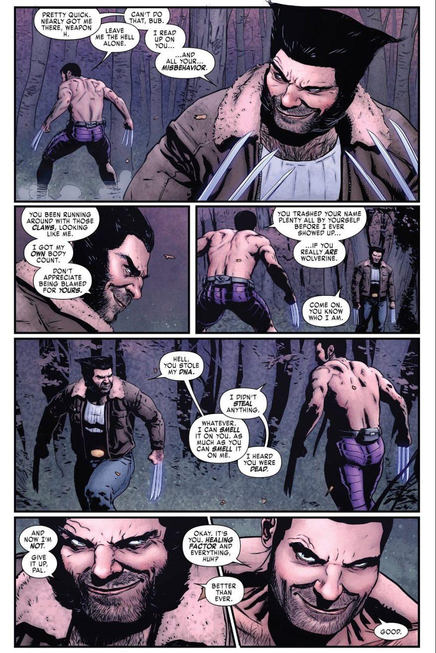 Hulkverine VS Wolverine