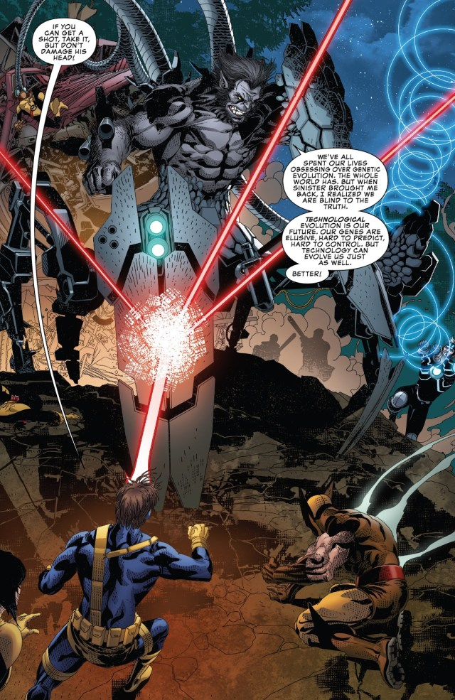 X-Men VS Cyborg Dark Beast