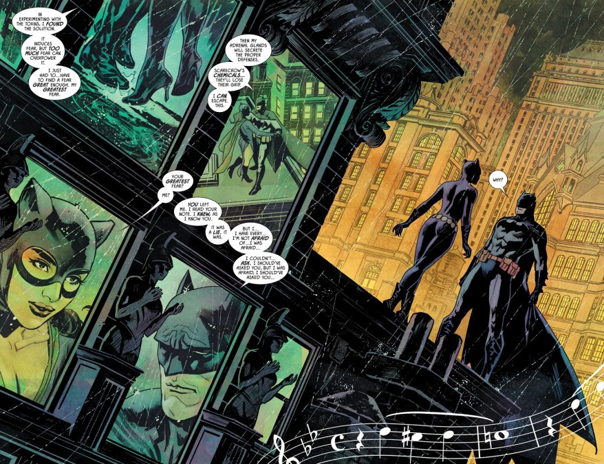 Batman Realizes He Doesn't Love Catwoman (Rebirth)