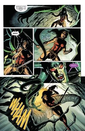 Nemesis Poisons Wonder Woman (Rebirth)
